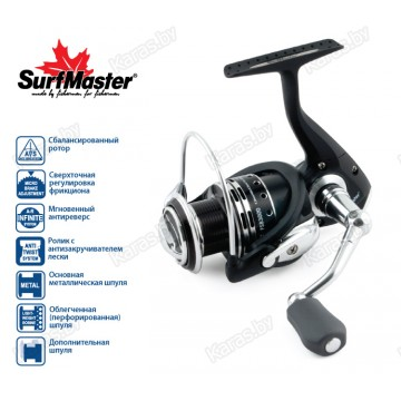 Безынерционая катушка Surf Master Sea Bass 2000
